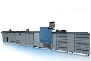 L'ammiraglia tra le stampanti digitali Konica Minolta