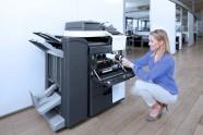 Sistemi di stampa a colori, efficienti ed economici, in grado di unire funzioni di copia (a colori e in bianco e nero), di scansione e fax in un solo dispositivo.  Dotati di eccezionali capacità di comunicazione, offrono una qualità impareggiabile, alti livelli di flessibilità e funzionalità, per ogni esigenza di business.